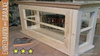 Puerta De La Vitrina De Coleccionista. How To Make The Glass Cabinet Door