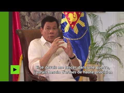Rodrigo Duterte : «Si je devais me lancer dans une guerre, j'aurais besoin d'armes de précision»