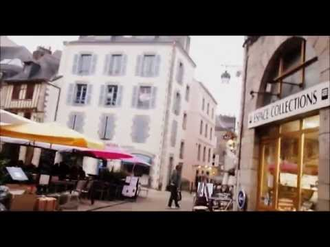 """Visit Brittany - Visit of The best """"Creperie"""" town:  Quimper"""