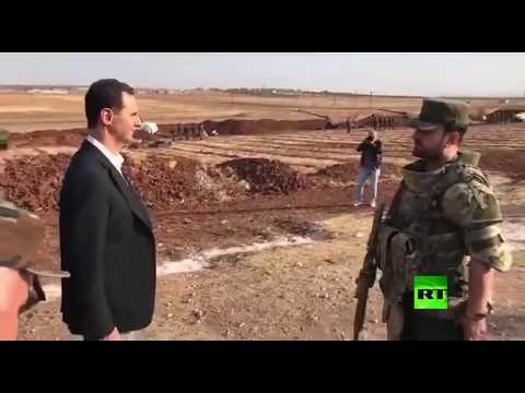 الأسد يشرف على صليات مدفعية في إدلب  - نشر قبل 3 ساعة