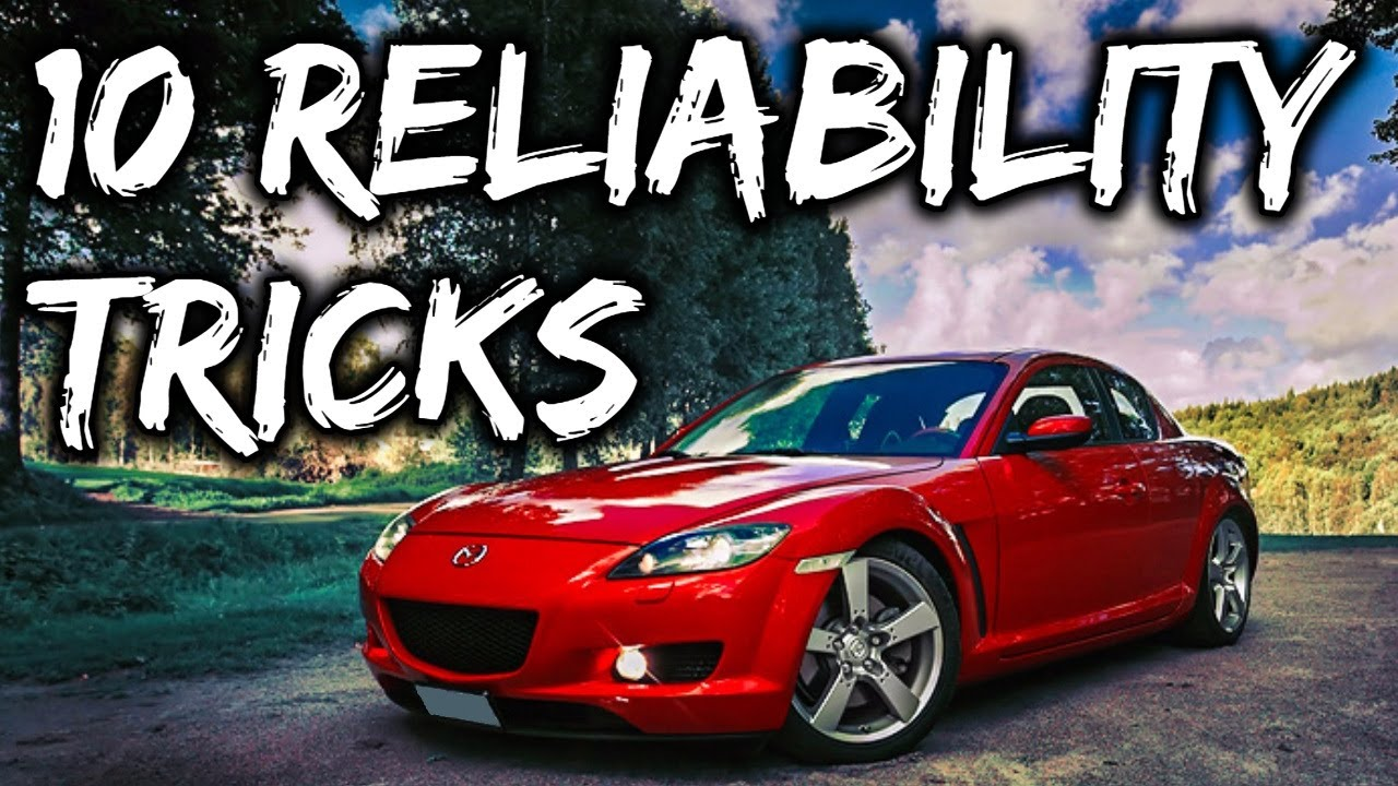 10 Ways To Make Your Mazda Rx8 More Reliable (dont' disconnect the metering  pump)