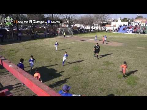 Don Bosco vs Juan XXIII categoría 2009 campeonato oficial (2017)