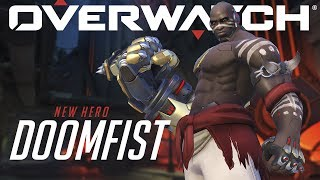 [NEW HERO NOW PLAYABLE] Introducing Doomfist | Overwatch