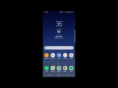 SAMSUNG GALAXY S8  : Software features. ANDROID 7 0{ Samsung experience version 8 1}