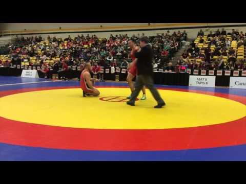 2015 CIS Championships: 100 kg Final Alex Thoms vs. Andrey Vorontsov