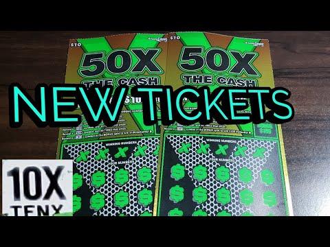 🌟10X WINNER🌟 2X $10 50X THE CASH - ARIZONA LOTTERY SCRATCH OFF TICKETS