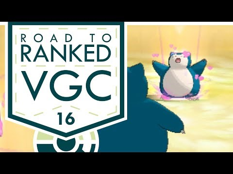 """BANDED SNORLAX??!"" VGC 2017 Road to Ranked! Episode 16 - Pokemon Sun and Moon w/ PokeaimMD & Baz"