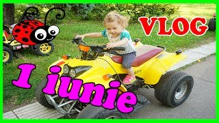 Vlog Ziua Copiilor Melissa cu Jasmina Sarbatoresc 1iunie