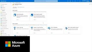 How to use Azure Quickstart Center | Azure Portal Series
