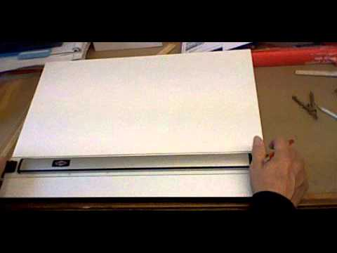 Drafting Board And Parallel Bar Introduction   YouTube
