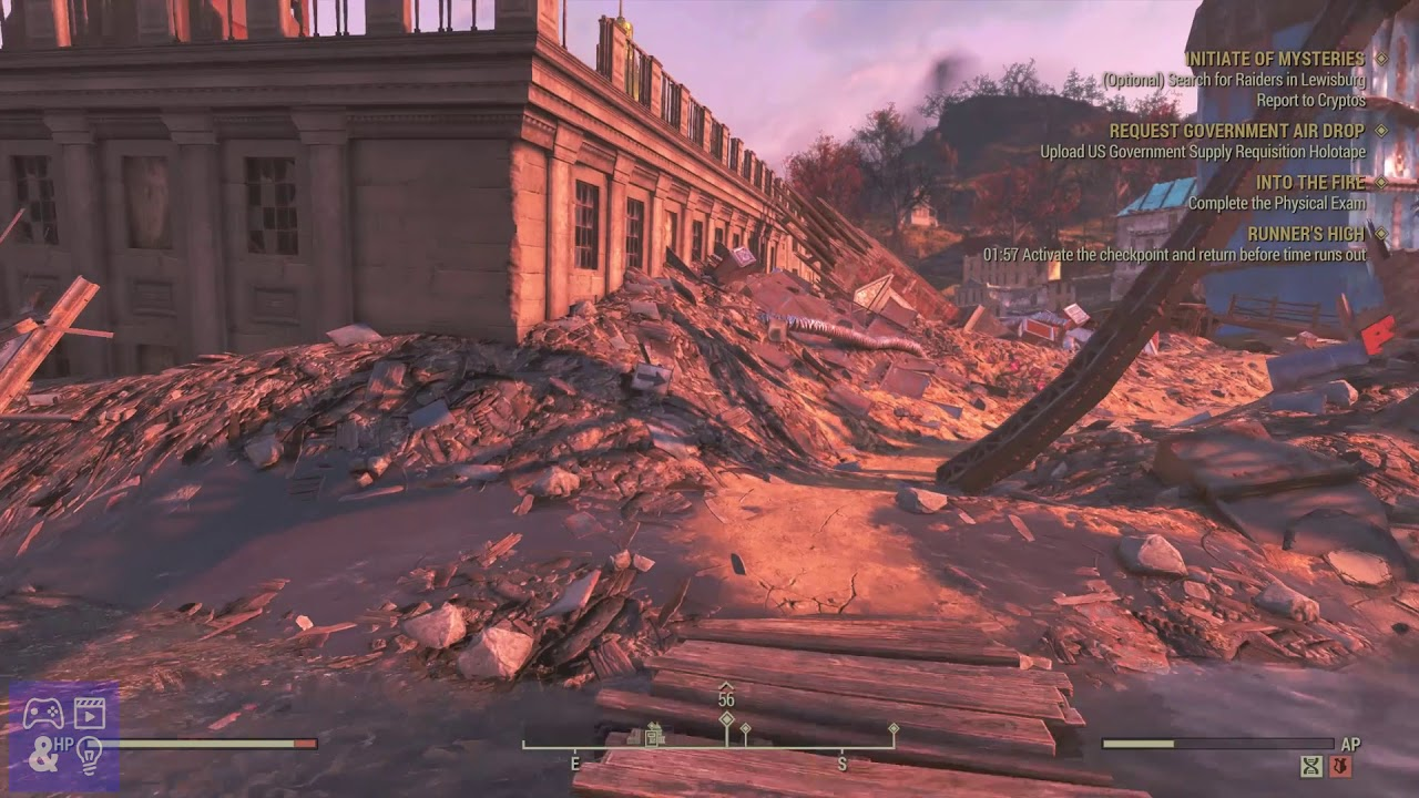 Fallout 76 Fire Breathers exam answers and Into the Fire physical