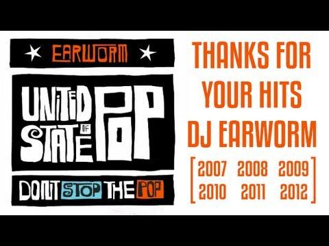 Dj Earworm - Top Pop US Mix 2007-2011