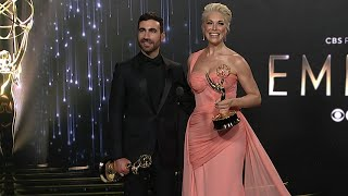 Emmys 2021: Brett Goldstein and Hannah Waddingham (Ted Lasso) -- Full Backstage Interview