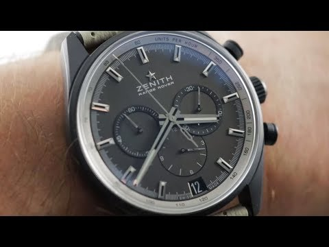 Zenith El Primero Range Rover Chronograph (24.2040.400/27.R797) Luxury Watch Review
