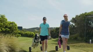 Karrie Webb visits the Mornington Peninsula