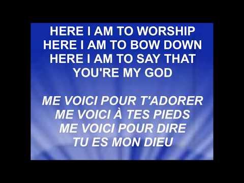 I GIVE MYSELF AWAY - HERE I AM TO WORSHIP...