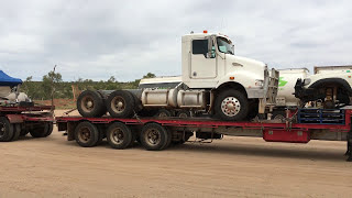 How to make a road train in Alice Springs, Australia [1/2]