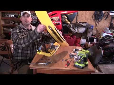 How And Why To SHIM Your Sled's Skis!!  A DIY