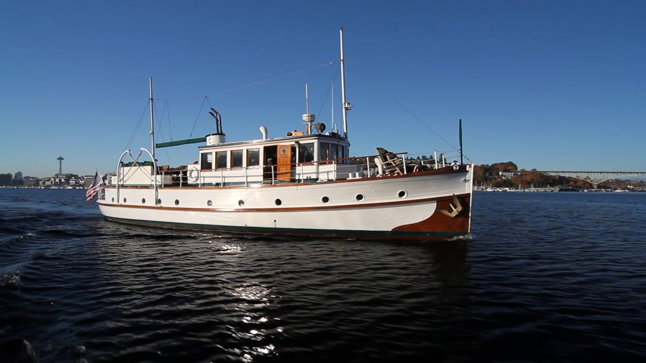 1931 Boeing Yacht Of Sale In Seattle Classic Yacht YouTube