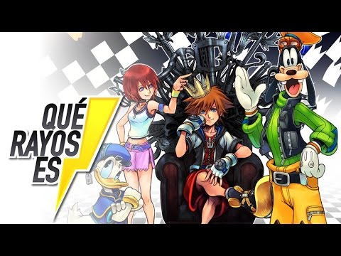 ¿Qué rayos es Kingdom Hearts?
