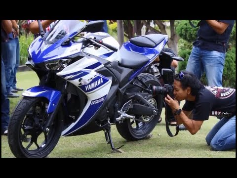yamaha yzf r25 first look and press launch youtube