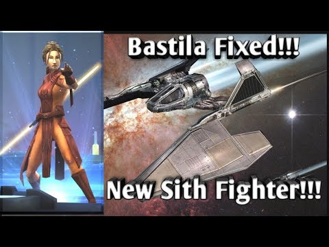 Bastila's Fixed and Sith Fighter Incoming!!!  star wars galaxy of heroes swgoh