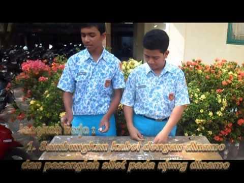 PRAKTEK FISIKA ( Alat Pemotong Rumput Sederhana ) - YouTube