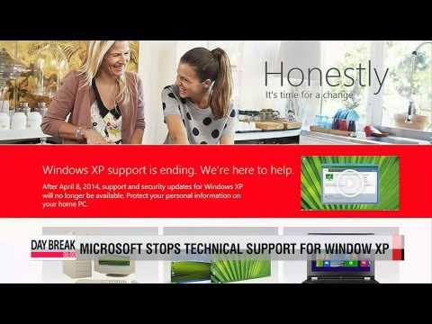 Microsoft Stops Technical Support For Window XP