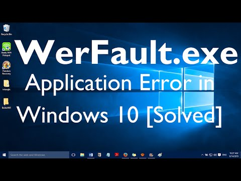 Windows 10 werfault exe