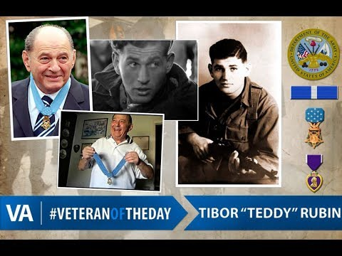 US war-hero, Ted Rubin, denied Medal-of-Honor by Army anti-Semitism, recognized by VA Hospital