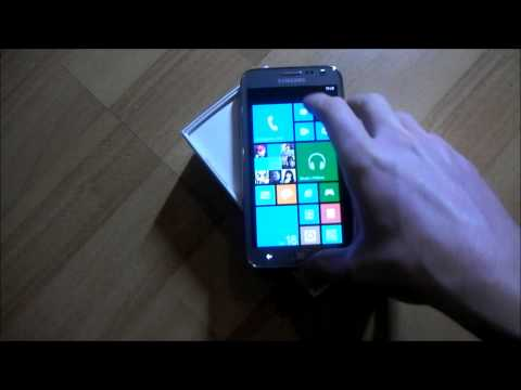 Samsung ATIV S Windows Phone Unboxing and Hands-on