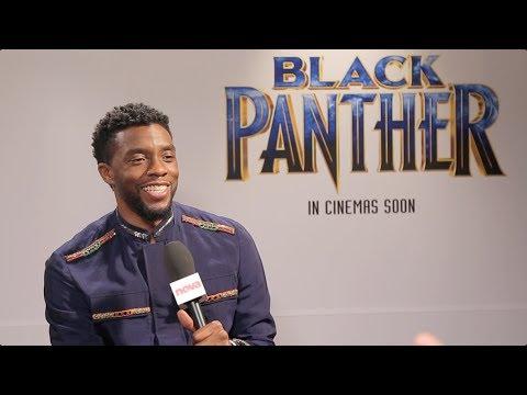 Black Panther's Chadwick Boseman On Kendrick Lamar