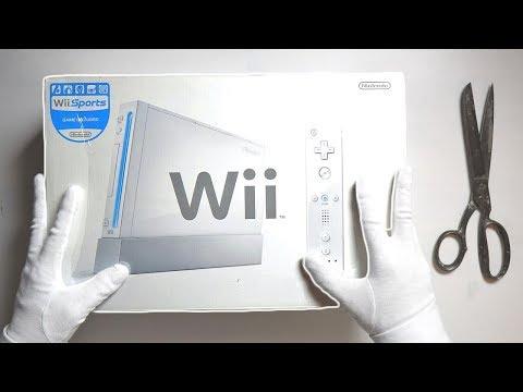 NINTENDO WII UNBOXING! Original White Backwards Compatible Console