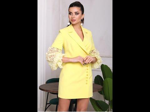 Вечернее платье Мода-Юрс модель 2686 zheltyj