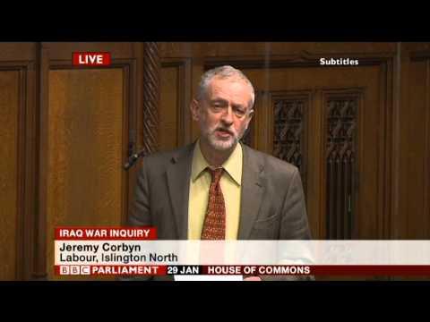 Iraq war inquiry cover-up | Jeremy Corbyn | Parliament 29/01/15