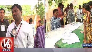 Mahabubnagar Collector Ronald Rose Face To Face On Election Arrangements | V6 News