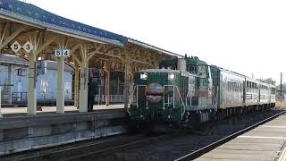 JR北海道夕陽ノロッコ号釧路駅