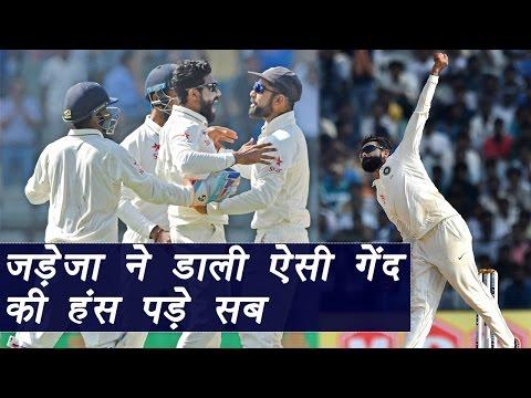 Virat Kohli and Aussie batsman laugh out on Ravindra Jadeja