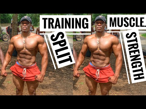 Training Split For Muscle Growth | Workout Split For Strength