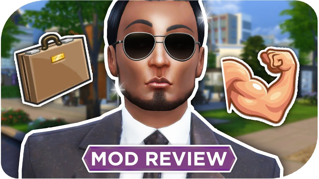 THE SIMS 4 BODYGUARDS (ROAD TO FAME) 📷⚡️ MOD REVIEW YouTube