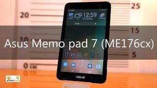 Обзор многофункционального планшета Asus Memo Pad 7 ME176cx