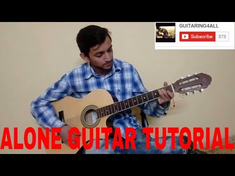 Alone(Alan Walker) Guitar Chords Strumming Tutorial || Beginners