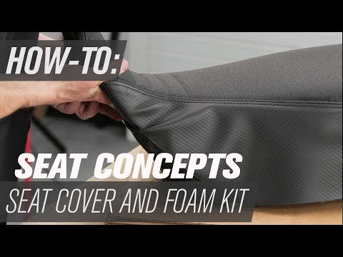 How To Install the Seat Concepts Motorcycle Seat Cover and Foam Kit