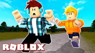 ROBLOX-HE NO ME CATCH!! (Handgrip Roblox)
