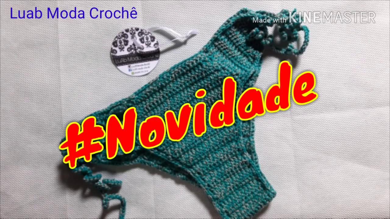 9fb0e0756 Biquíni Franzido - TAMANHO M. LuAb Moda Crochê