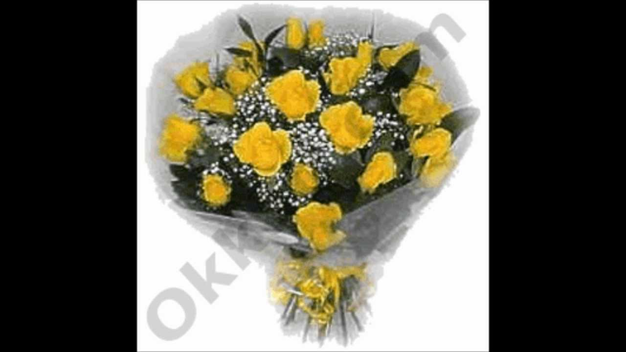 Yellow Roses Bunch Flowers Birthday Wedding Gifts To India Youtube
