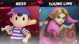 sideb (Ness)  vs Critterpatter (Yink) - Losers Round 2 - Smash Fight Club @ CBC 4/17/2019!