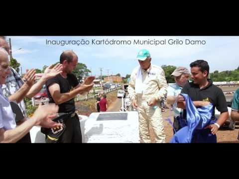 Inauguração do Kartódromo Municipal Grilo Damo  e competições
