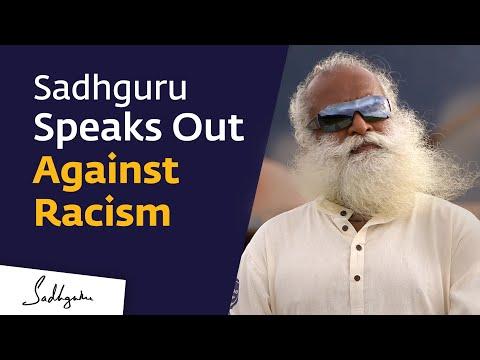 Sadhguru Speaks Out Against Racism & Prejudice  #Racism