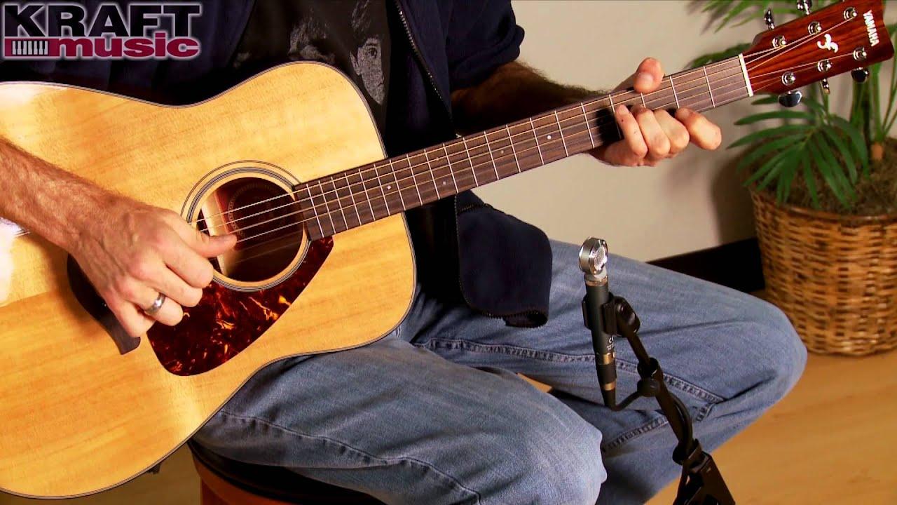 Kraft Music Yamaha Fg700s Acoustic Guitar Demo With Jake Blake You